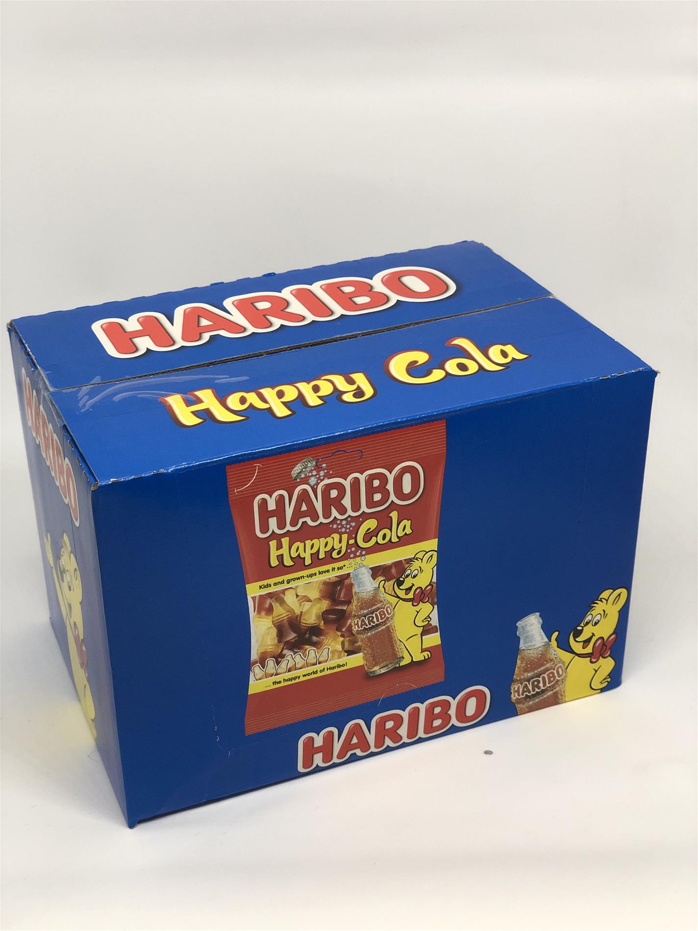 Haribo Happy Cola 25 Gr Jelibon 24 Lu Husnuoglu Toptan Ticaret