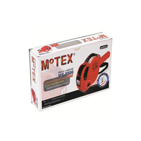 Motex Etiket Makinesi 5500 8 Hane