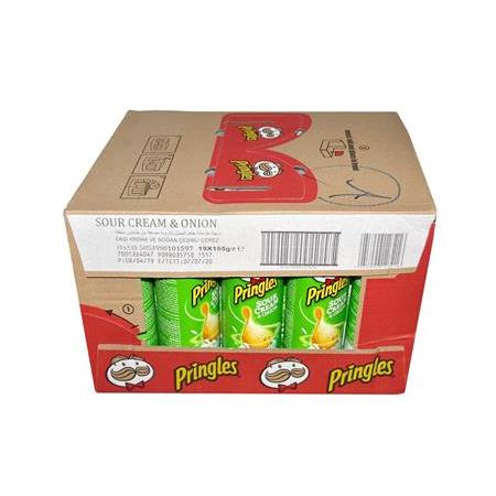Pringles Sour Cream & Onion Patates Cipsi 165 gr
