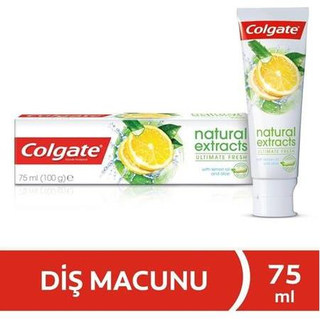 Colgate Natural Extracts Limonlu Macun 75 Ml