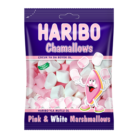 Haribo 25 gr Chamallows Pink & White