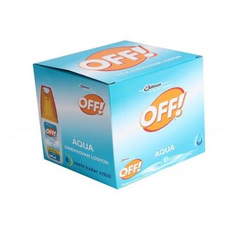 Johnsons Off Sinekkovar Losyon Aqua Sprey 100 ml